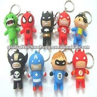 OBOE Mini Cartoon Character Spider Man Customized USB Flash Drive