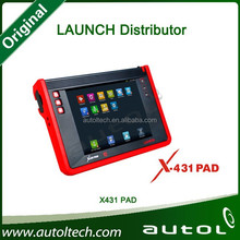 2015 [Launch Authorized Dealer: 86K] 100% Original Launch X431 PAD In stock Support 3G Wifi X-431 PAD Launch Update Online