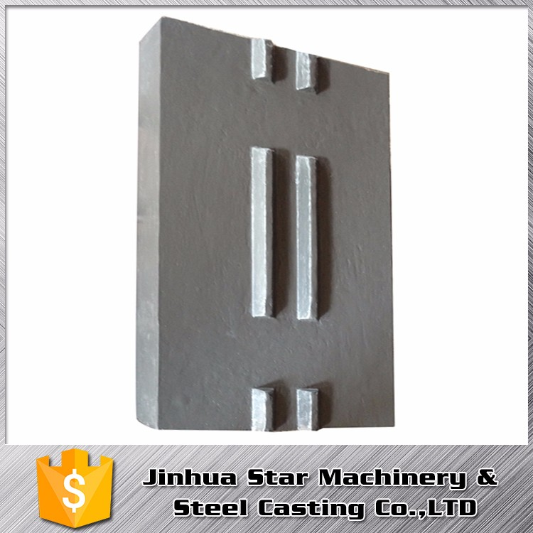 Smelting Easy maintenance jaw crusher consumable parts