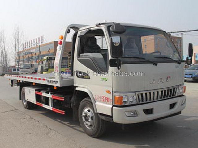 Euro 5 2800kg lifting capacity wrecker tow truck for sale