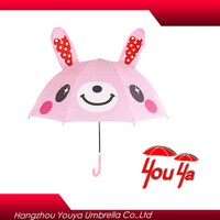 2016 popular animal products auto open straight custom kids print cartoon umbrella
