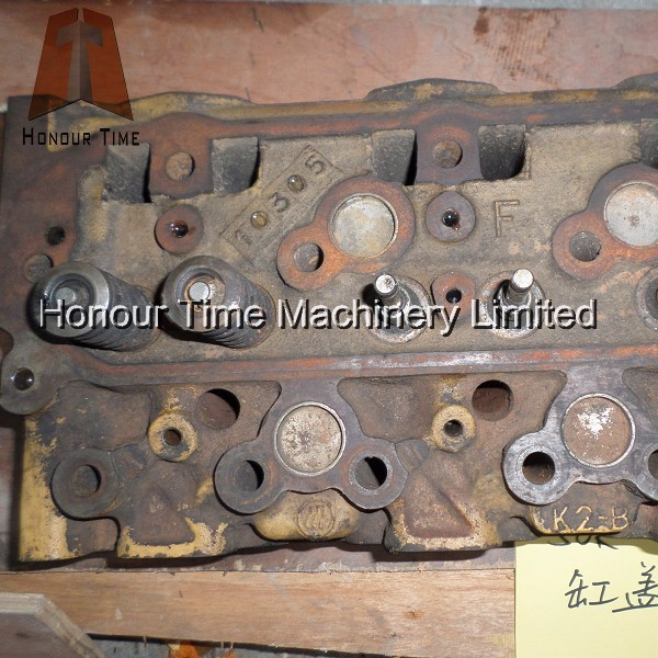 S6K Engine Cylinder head for used engine parts