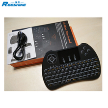 mini keyboard h9 mini wireless keyboard touchpad backlight 71 keys