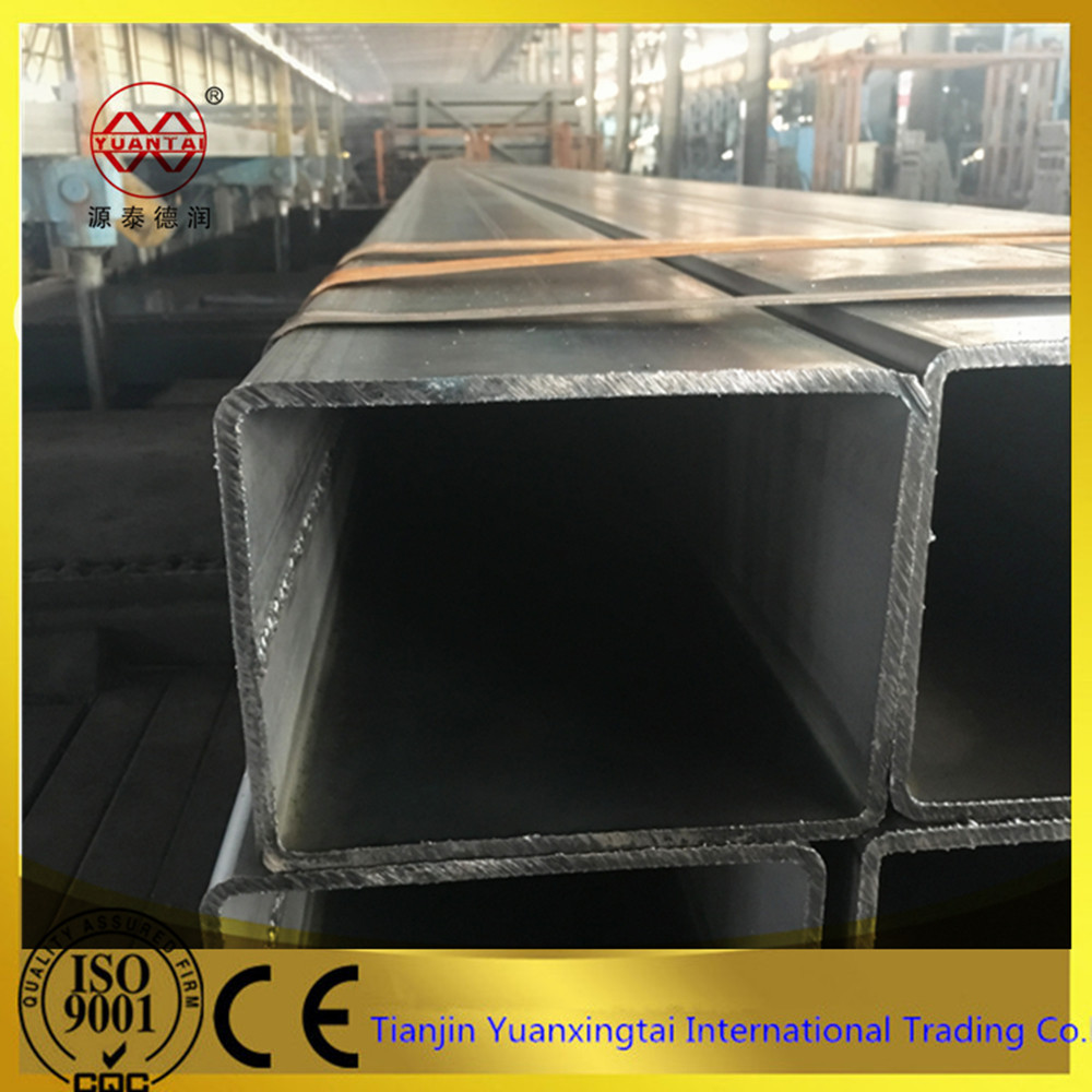 low carbon mild rectangular steel tube/ rhs steel