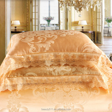 100% Cotton Custom White Sateen Bedding Sets Star Hotel Used Bedsheets BSS0601