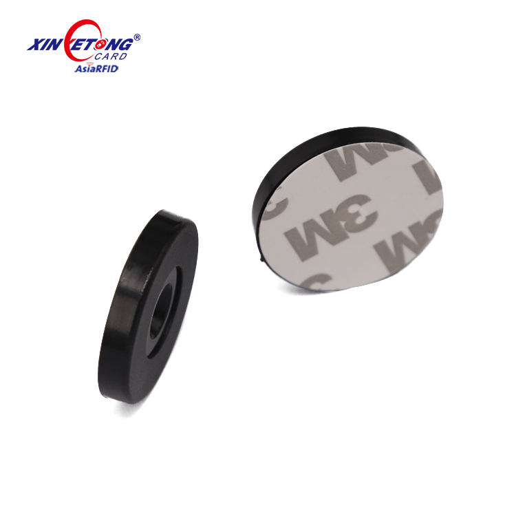 Diameter 25 MM ISO14443A 13.56MHz Ultralight EV1 ABS Disc NFC Tags