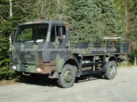 Mercedes 1017 4x4 Military Army Trucks