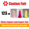 2018 123rd China Guangzhou Canton Fair for Trousers Clothing Service