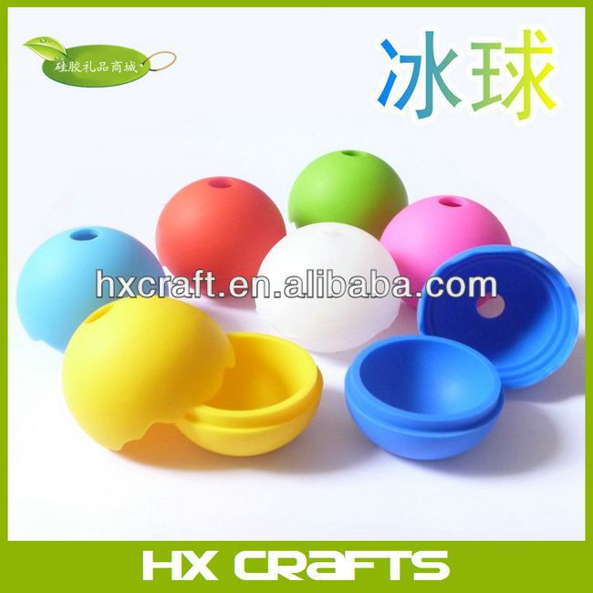 Top Quality Food degree FDA LFGB approved silicone customized promotional fruit ice ball maker