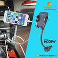 2017factory price car socket car holder with three USB charger mobile phone holder charger