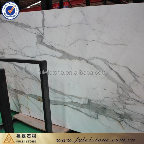 Factory Direct Stone Marble Calacatta Marble Floor Tiles