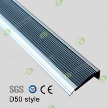Hotel Or Home Use Safety PVC Stair Nosing For Vinyl Floor