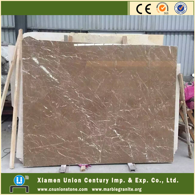 Wholesale white veins irish brown marble