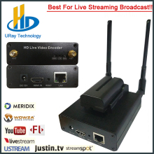 Premium Full HD H.264 live streaming video,stability and portability or battery life mini encoder
