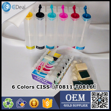 Office equipment refill ink continuous system for Epson RX610 R295 1410 ink tank diy CISS