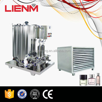 France Freezing Filter Stainless Steel 500L Perfume Making Machine
