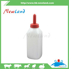 Self-moulded Milking Bottles For Calves With Silicon Teat