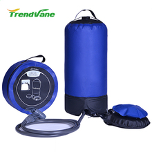 11L 3 Gallon Outdoor Portable Camping Hiking Solar Heated Shower
