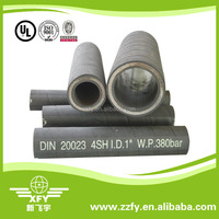 SAE100 R12 high duty steel wire Spiral Hydraulic Rubber Hose