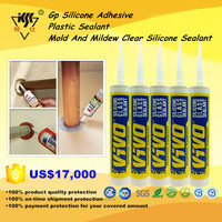 GP Silicone Adhesive/Plastic Sealant/Mold And Mildew Clear Silicone Sealant