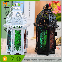 Gifts Decor Large Contemporary Table Top Metal Candle Holder Lantern