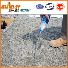 additive for producing pervious concrete