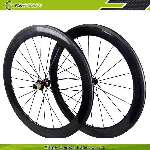 oem carbon road bike wheels 50mm front 60mm rear wheel 23mm U shape cheap carbon road bike wheels Novatec 291sb_sl/482sb_sl hub