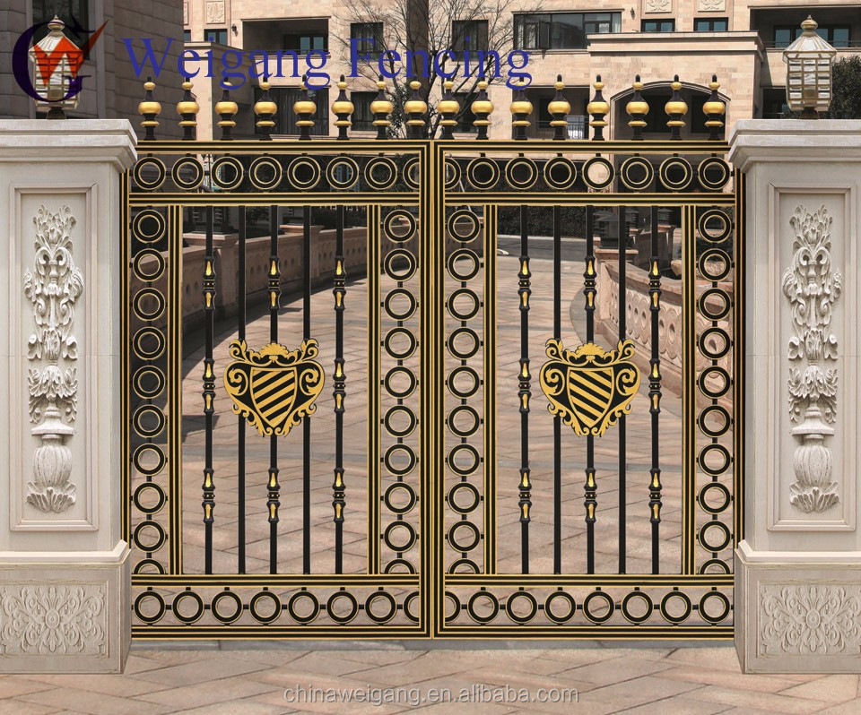 Design Of Compound Wall Gate : Modern metal gate designs wall compound buy