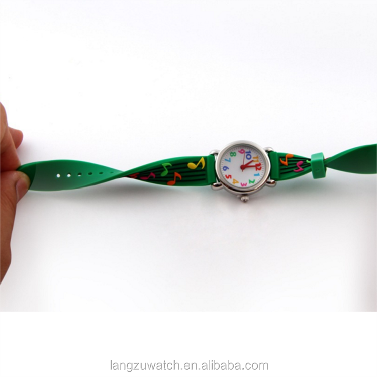 custom design your own silicone 3d cartoon watches