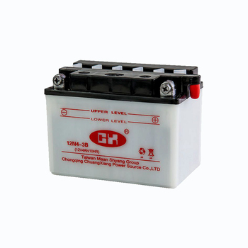 Wholesale 12v 4ah dry charged lead acid motorcycle storage battery from China manufacturer