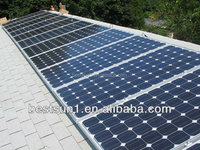 Complete with battery and brackets 20000w 175w pv solar panel