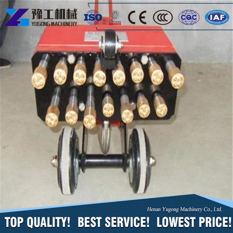 YG cheap price Hand push ground walking type bush hammer electric bush hammer with good quality