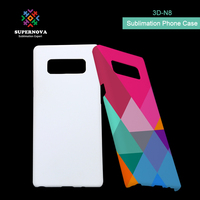 3D Sublimation Blank Phone Case, Custom Made Phone Cover, Printable Phone Case for Note 8