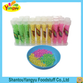 Promotional mix fruits flavors cristal sugar hard candy confectionery products