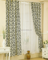 Hot selling by the piece curtain fabric american style home curtains