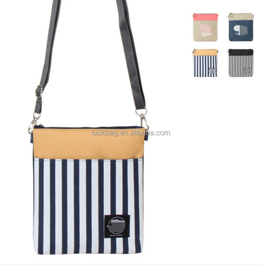 2017 Wholesale Long Strip Polyester Shoulder Bag Durable and Cheap