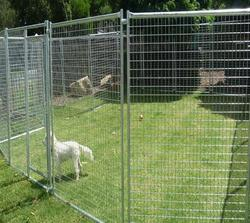 wholesale welded wire mesh large dog cage , dog run kennels , dog run fence