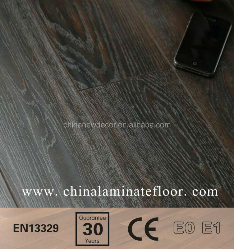 wood texture handscraped laminate flooring made in germany