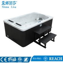Many colour 5 person 118pcs nozzles Balboa hydro hot tub with Wifi & video & TV & Balboa Control panel/ hydro spa hot tubM-3374