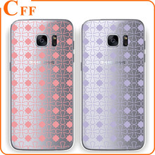 For Samsung Galaxy s5 s6 s6edge s7 s7edge Soft TPU Silicone Gel Cover Simple Design Love Heart Star Clear Transparent Phone Case