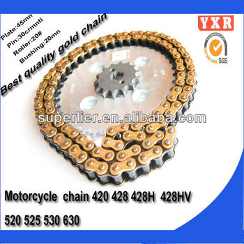 Motorcycle chain,motorcycle chain and sprocket , Chain Sprockets Motorcycle CD70