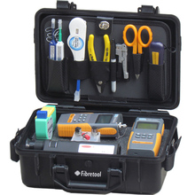 HW-115M Optical Fiber Test Set Tool Kit with Power Meter and Light Source