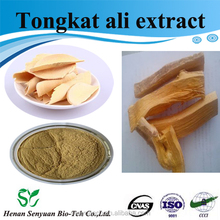 High quality pure natural tongkat ali root extract 100:1 from GMP Manufacture