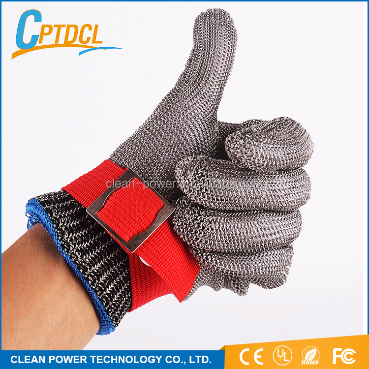 good quality western ce ul rohs cut resistant butcher gloves meat cutting gloves butcher stainless steel glove