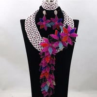 Fashion African Beads peacock jewellery sets indian jewelry