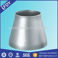 High pressure butt welded SS / stainless steel reducer pipe fitting