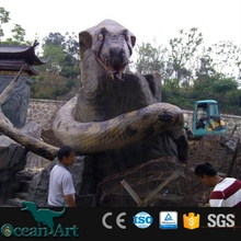 OAD1888 Simulation Animal Animatronic robot snake for sale