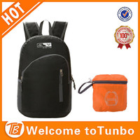 2015 new products cheap folding school bag laptop retail backpack travel