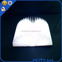 2015 hot sell led book lamp, rechargeble battery led book lamp