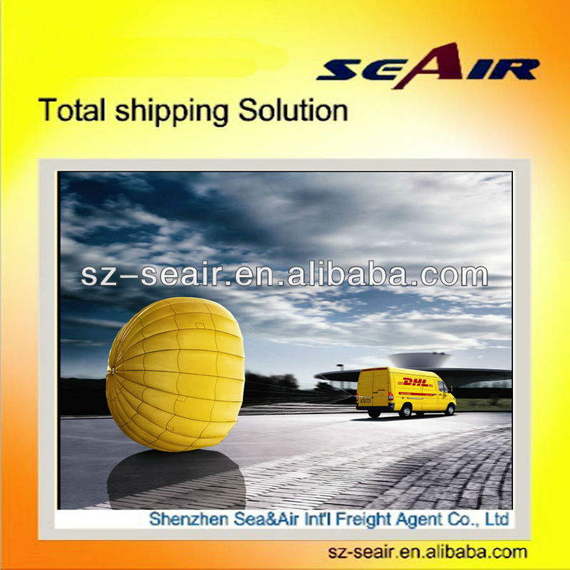 2016 cheap air freight rates to yemen The DHL agent in shenzhen dhl drop shipping to USA or Brazil door to door